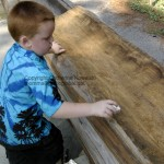 Roanoke Island Festival Park – Manteo, NC carving boat