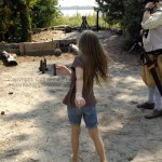 Roanoke Island Festival Park – Manteo, NC playing skittles