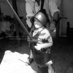 Roanoke Island Festival Park – Manteo, NC wearing armor