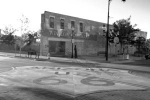 Rt 66 Standing on the Corner, Winslow, AZ